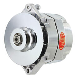 Powermaster Alternator 8-66141-344 Motorola Replacement 150a Polished For Jeep