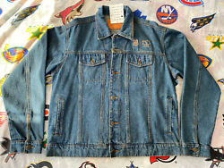 Union Pacific 150 Years Denim Jacket Menand039s Xl Los Angeles Service Unit Nwt