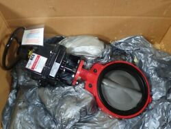 10andrdquo Asahi America Unused Electric Actuated Butterfly Valve Remote Control Rce Se