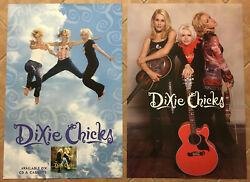 Dixie Chicks. Rare 1998 Double Sided Promo Poster 4 Wide Cd 24x36 Never Displayd
