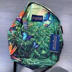 JanSport Student High Stakes Wild Jungle Backpacks School Laptop Tablet Bag New $34.88