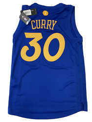 New Stephen Curry Small Golden State Warrior Xmas Adidas Swingman Jersey Nwt