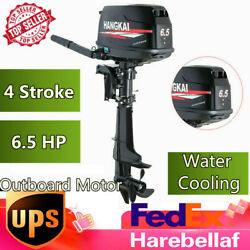 6.5hp 4 Stroke Outboard Motor Marine Boat Engine Hangkai And Water Cooling Cdi Us