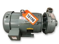 7.5 Hp Flowserve Size 1.5 X 1 X 7 Centrifugal Pump Type 3000 [unused]
