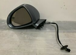 Vauxhall Corsa D 2008 Passenger Side Electric Wing Mirror In Silver