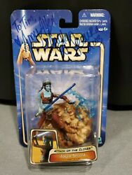 ☆new/signed By Amy Allen Star Wars Aotc Aayla Secura Jedi Knight Action Figure