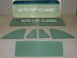 1949 - 1952 Chev Glass Windshield Replace 2 Pc Cpe Sed Vent Door Qtr Back Pont