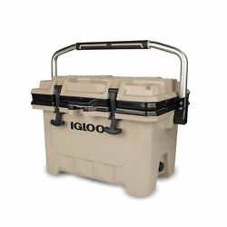 Igloo 00049857 IMX 24 Qt. Heavy Duty Injected Molded Construction Cooler Tan $109.99