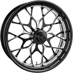 Performance Machine Galaxy 21 Dual Disc Front Wheel 14-19 Harley Touring Flhx
