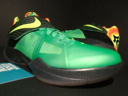 Nike Zoom Kevin Durant Kd Iv 4 Weatherman What The Green Black 479436-303 5y 5