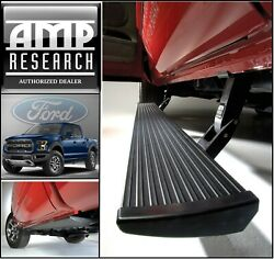Amp Powerstep Led Electric Running Boards For 2015-2020 Ford F150 Ships Now