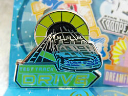 2016 Disney Mascots Epcotand039s Test Track Drive Car Ride Mystery Trading Pin