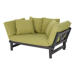Outdoor Day Bed Sofa Lounge Chaise Convertible Sunbed Patio Garden Chair Seat