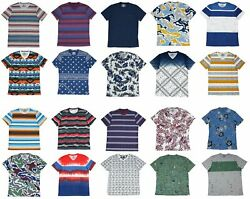 American Rag Men's Graphic Print Short Sleeve T Shirt - Choose Style  $9.95