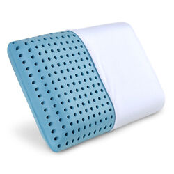 Cooling Memory Foam Pillow Ventilated Bed Pillow Infused with Cooling Gel