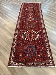 On Sale Beautiful Gharajeh Vintage Hand Knotted Tribal Runner 2andrsquo10andrdquox9andrsquo2andrdquo933