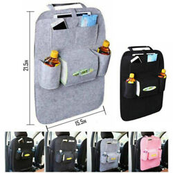 Car Seat Back Storage Bag Organizer iPad iPhone Holder Multi Pocket Hanging