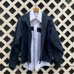 Vintage Work Wear Jacket And Shirt Greeneville Tennessee Emergency Rescue Squad 44