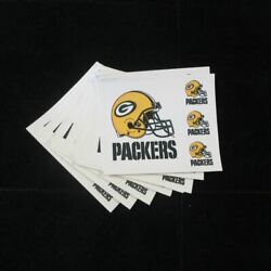 20 Pk Of Green Bay Packers Nfl Decal Stickers