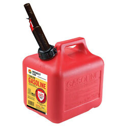 Midwest Can Company 2310 2 Gallon Gas Can Fuel Container Jugs W/ Spout 4 Pack