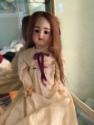 """25"""" Beautiful Early Simon Halbig 1079 Dep Antique Bisque Doll French Market"""