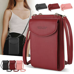 Small Cross body Cell Phone Handbag Case Shoulder Bag Pouch Purse Wallet Women $12.97