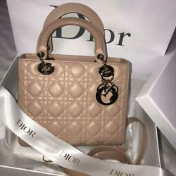 Authentic Dior Lambskin Bag From JAPAN No.48017