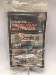 Chilton's Guide To Diesel Cars And Trucks 6754 Rare Find Vintage New Old Stock