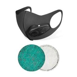 Electric Mask Air Purification Reusable Face Mask With Breathing Valve