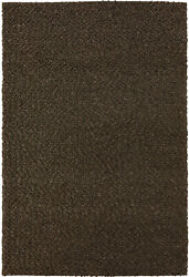 Dalyn Brown Shag/flokati Hand Hooked Plush Casual Fluffy Area Rug Solid Gr1