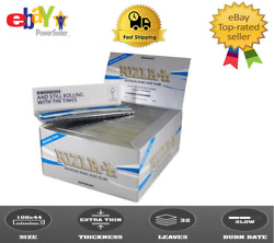 2 X Box Rizla Micron King Size Slim Rolling Papers Cigarette 100 Booklets