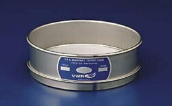 Vwr Testing Sieves, All Stainless Steel 635ss8h Half Height Labware