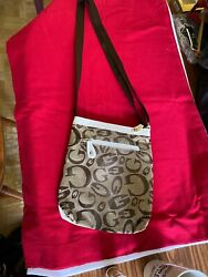 Girls Ladies Cross Body Bag Made With  100 Man Made Materials New Without Tag