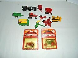 Lot Of Diecast Ertl Farm Toys Maybe Some Others