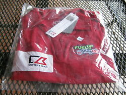 Cutter And Buck Cb Drytec Fuel Up To Play 60 Color Cdr Red Ladies Large
