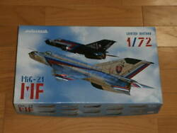 Eduard 172 Mig-21 Mf Limited Edition 2 Machine Set With Book