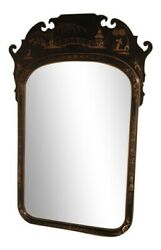 L39219 Friedman Brothers 6546 Large Chinoiserie Oriental Framed Mirror New