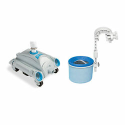 Intex Automatic Above-ground Swimming Pool Vacuum And Mounted Automatic Skimmer