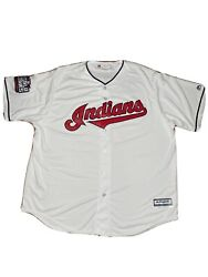 2016 Francisco Lindor Cleveland Indians Authentic World Series Jersey Xxl