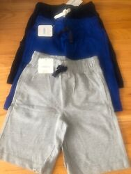 NWT Gymboree Boys Pull-On Shorts 3 Pairs Available Size 7 8 9 10 Retail: $44