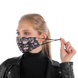 Unisex Women Men Face Mask Reusable Washable Cloth Cover Fashion Ships from USA $7.99
