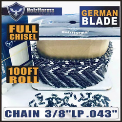 Holzfforma 100ft Roll .3/8''lp .043'' Saw Chain Compatible With Dolmar Echo Oleo