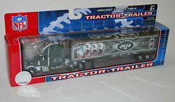2007 Nfl Football Semi Truck Tractor Trailer Collectible New York Jets
