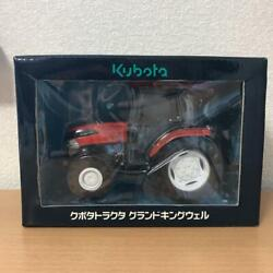 Kubota Tractor Grand Kingwell Mini Toy Car Diecast From Japan Free Shipping