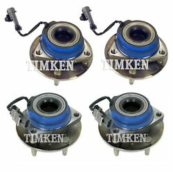 Timken Wheel Bearing And Hub Assembly For Cadillac Sts Awd