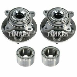 Timken Wheel Bearing And Hub Assembly For Land Rover Lr4 Awd
