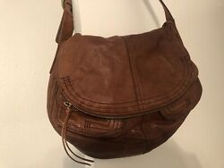Lucky Brand Brown Leather Shoulder Purse