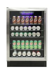 Vinotemp Single Zone Beverage Cooler 161 Cans Stainless - El-46wcbc-l
