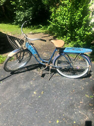 Antique Roadmaster Bicycle Girl Rare