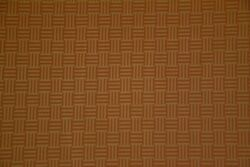 Discount Fabric Drapery Brick Red And Antique Gold Rail Fence Fabric